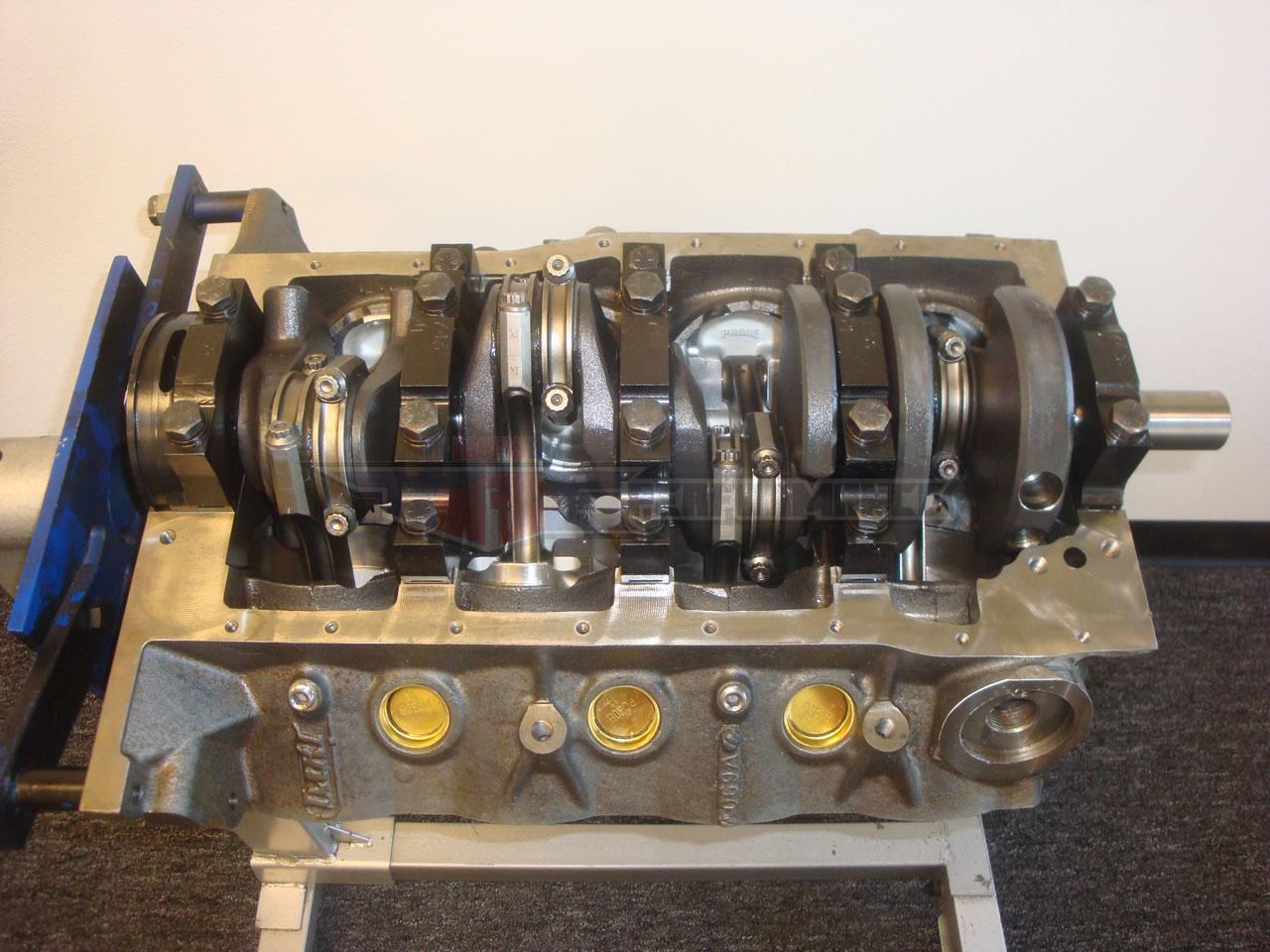 Dart shp ford 363 stroker forged 4340 short block sbf dish for Ford stroker motor sizes