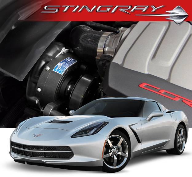 Chevy Lt1 Engine Technology From The C7 Corvette Stingray: Corvette C7 Stingray 2014-2017 (6.2/LT1) Procharger