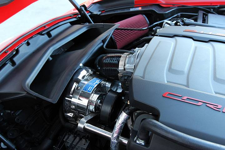 2018 Chevy Stingray >> Procharger Supercharger Corvette C7 Stingray 2014-2018 6.2 LT1 HO High Output Complete ...