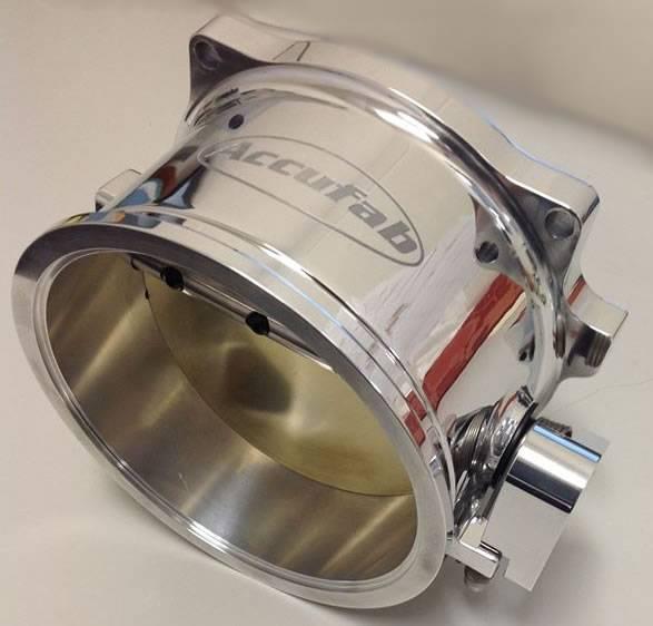 Accufab 125mm V-band Universal Race Throttle Body U125VB