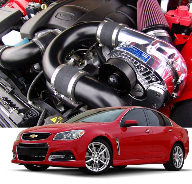 Whipple Supercharger Head Unit: Chevy SS 2014-2017 Intercooled TUNER KIT With P1SC1 1GW202