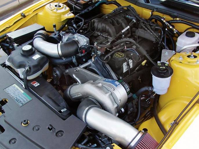 Ford Mustang V6 4 0l 2005 2010 Stage Ii Intercooled P1sc
