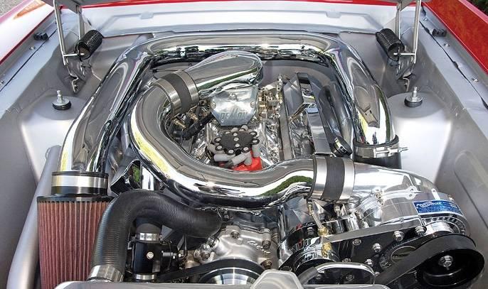Ford EFI SB SBF Serpentine Carbureted Aftermarket EFI High ...