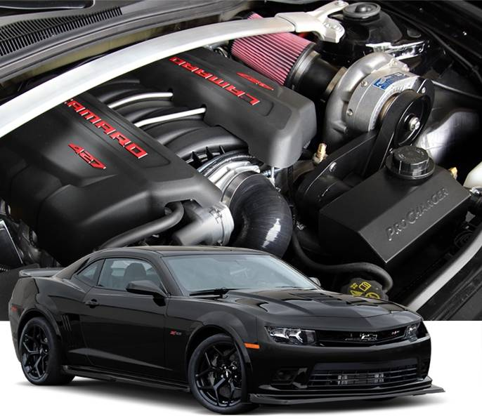 Procharger Chevy Camaro Z 28 2014 2015 Ls7 Stage Ii 2