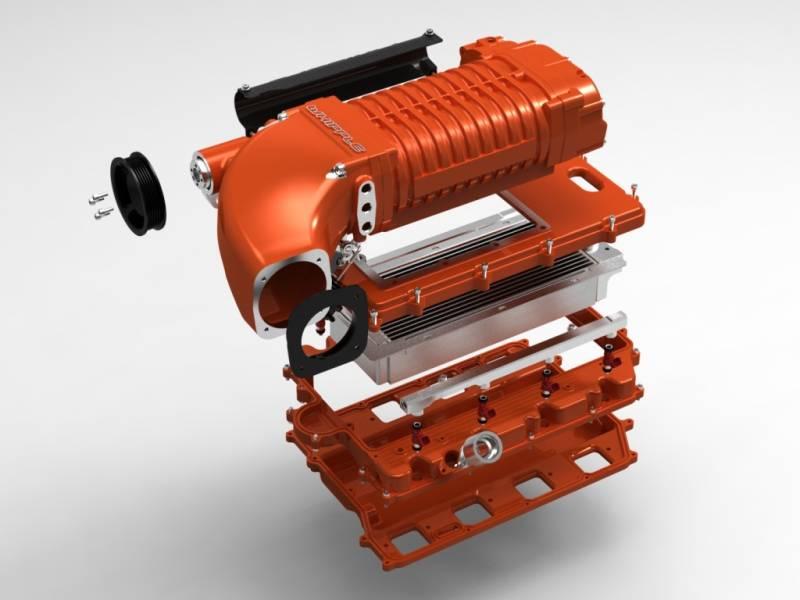 whipple dodge challenger srt8 hemi 6 4l 392 2011 2016 supercharger whipple dodge challenger srt8 6 4l 2011 2016 supercharger intercooled kit w175ff 2 9l