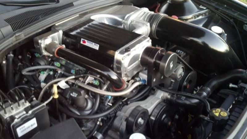 Kenne Bell Supercharger Chevrolet Camaro 62L ZL1 Mammoth