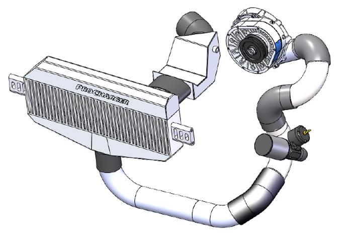 Procharger Supercharger Dodge Challenger Srt