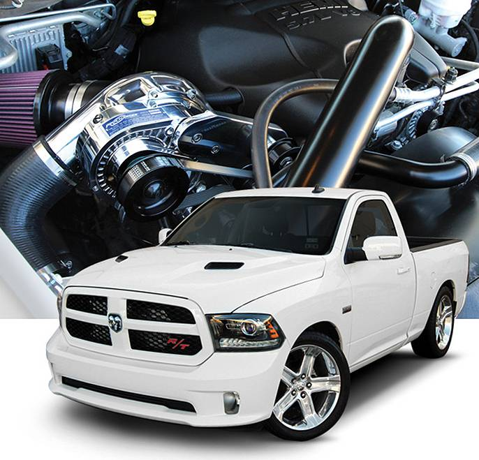 Dodge Rt Truck >> Procharger Supercharger Dodge Ram Truck HEMI 5.7L 2009-2018 Stage II Intercooled P1SC P-1SC-1 ...