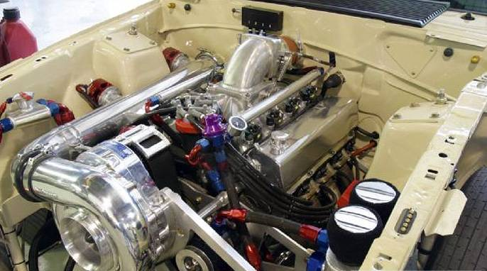 ford efi sb sbf reverse drive race carbureted aftermarket efi    ati procharger