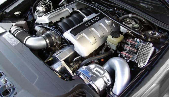 Pontiac GTO LS2 2005-2006 Procharger - Intercooled Serpentine Race ...