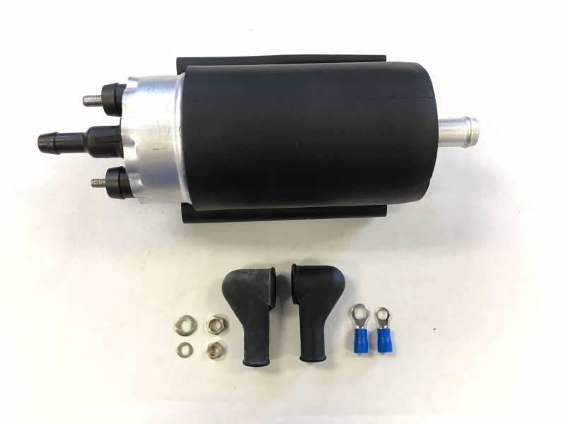 honda prelude external inline oem replacement fuel pump 1985 1987 rh treperformance com 1995 Honda Accord Fuel Pump Mitsubishi Electric Fuel Pump