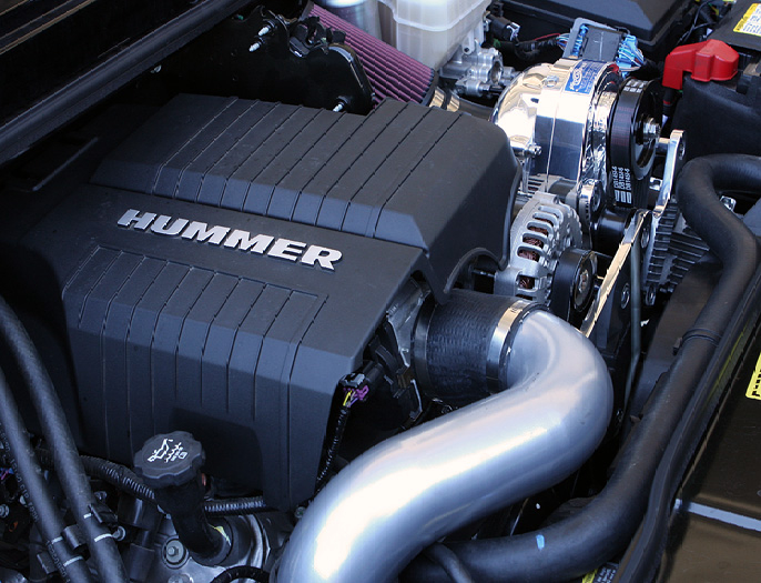 GM Hummer H2 2003-2007 6.0L Procharger - HO Intercooled ...