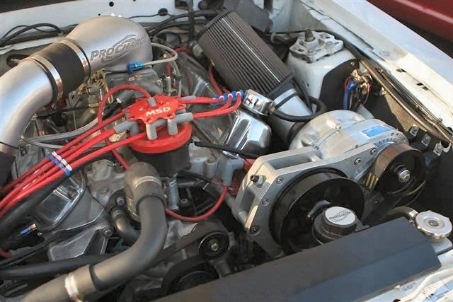 Ford EFI SB SBF Serpentine Carbureted Aftermarket EFI High