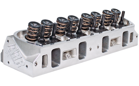 AFR 305cc BBC Rectangle Port Cylinder Heads Partially Ported - Air