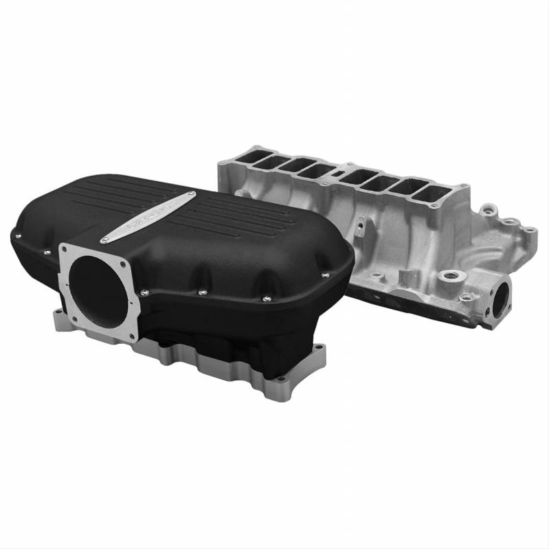351 Windsor Supercharger Kit: Trick Flow Box-R-Series Intake Manifold Ford 351w Black