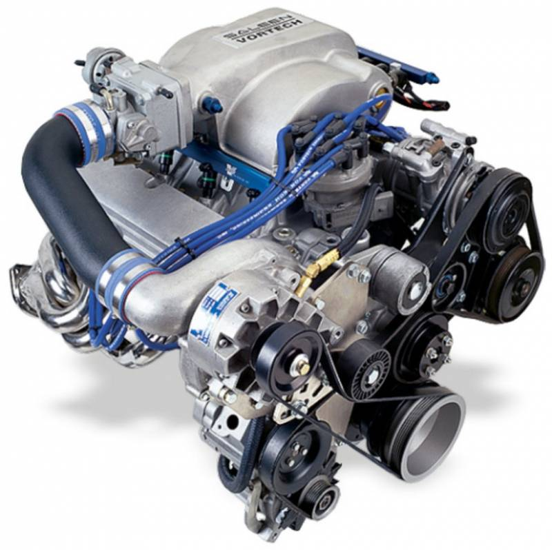 Vortech V3 Si Trim Supercharger: Ford Mustang 5.0L 1986-1993 Entry Level Vortech