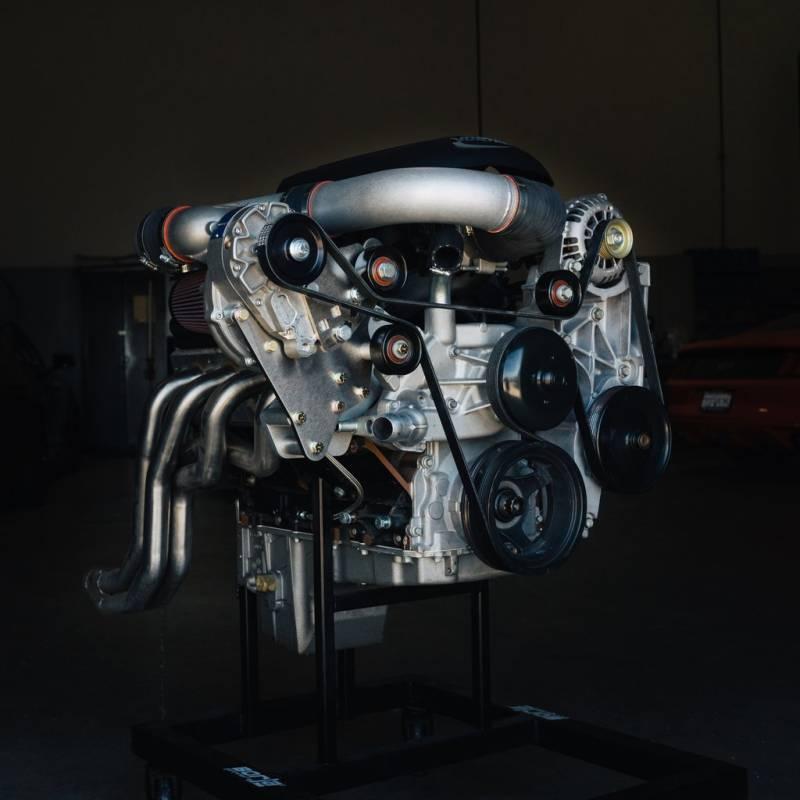 Chevrolet GM LS-Swap Carbureted Vortech Supercharger LS Truck FEAD