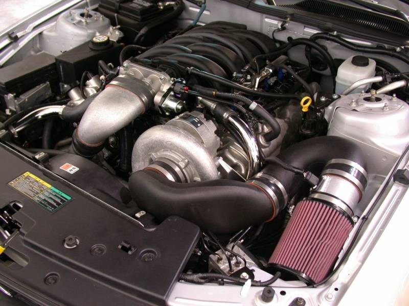 Ford Mustang GT 2005-2006 4.6L 3V Paxton Supercharger System Kit NOVI 2200 1001850 Increase Add ...