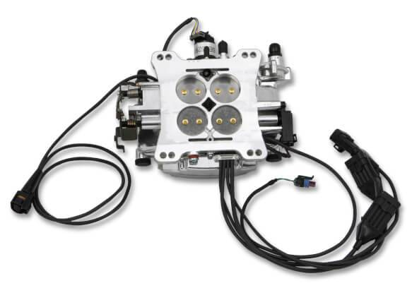 Holley Super Sniper EFI Self-Tuning Fuel Injection Kit Shiny 550-518