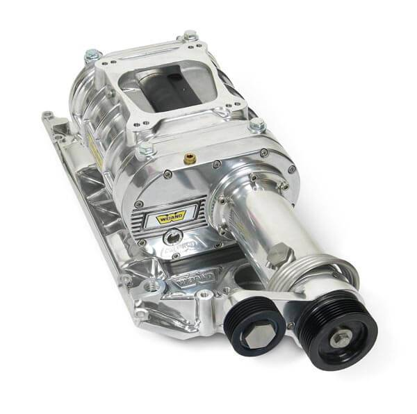 Whipple Supercharger Head Unit: Chevy Small Block Vortec L31 Head Weiand Polished 142