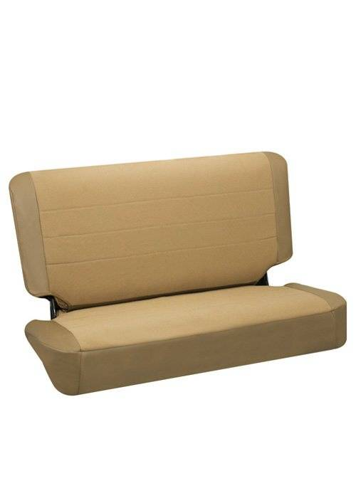Corbeau Jeep CJ YJ TJ Rear Seat Covers