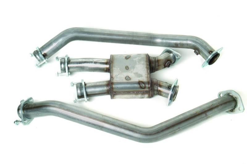 """1999-2004 Mustang 4.6L GT/Cobra 2.5"""" Off-Road Pro Chamber Mid-Pipe to ..."""