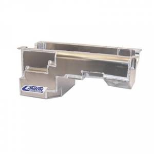 Canton Racing Products - Ford Aluminum Fox Body 302 Block Rear Sump Drag Race Oil Pan