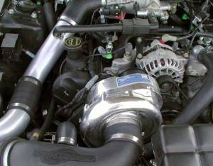 ATI/Procharger - Ford Mustang GT 1999-2004 and 2001 Bullitt 4.6L (2V)   Procharger - HO Intercooled Tuner Kit P-1SC