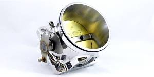 Accufab Racing - Accufab 90mm 86-93 Mustang 5.0L Clamshell Clamp Throttle Body