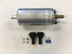 "TREperformance - Universal External Inline 255 LPH Fuel Pump with 3/8"" Hose Fitting"