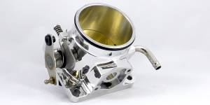 Accufab Racing - Accufab 75mm 86-93 Mustang 5.0L Clamshell Clamp Throttle Body
