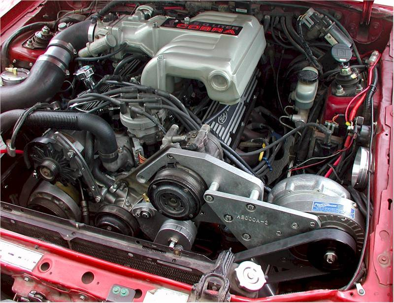 ATI/Procharger - Ford Mustang and Cobra 1986-1993 5.0L Procharger - HO Intercooled System with P1SC 8 rib