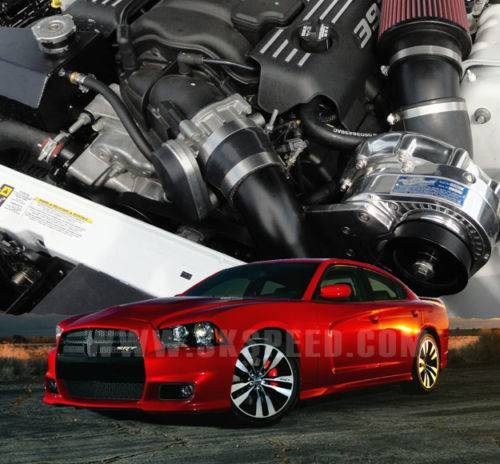ATI/Procharger - Dodge Charger SRT8 HEMI 6.4L 2012-2014 Procharger - HO Intercooled P1SC1