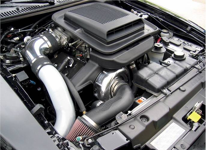 ATI/Procharger - Ford Mustang Mach 1 2003-2004 4.6L (4V) Procharger - Stage II Intercooled P-1SC - Image 1