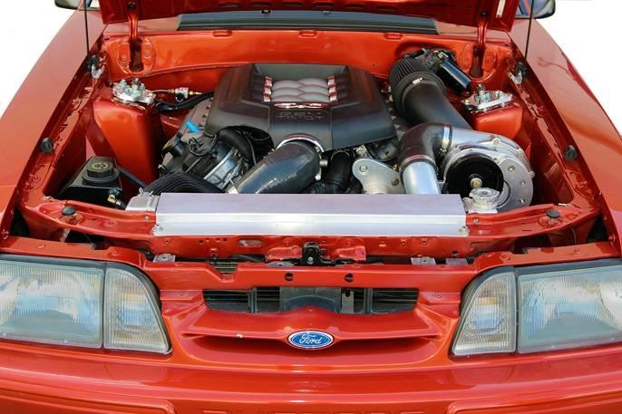 Ford Mustang Coyote 5 0L (4V) Procharger Transplant - Cog