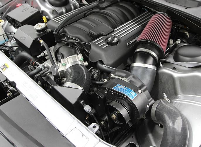 ATI/Procharger - Dodge Challenger SRT-8 HEMI 6.4L 2015-2017 Procharger - HO Intercooled P1SC1