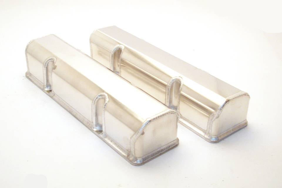 Canton chevy sbc laser cut rail fabricated aluminum valve covers canton chevy sbc laser cut rail aluminum valve covers sciox Image collections