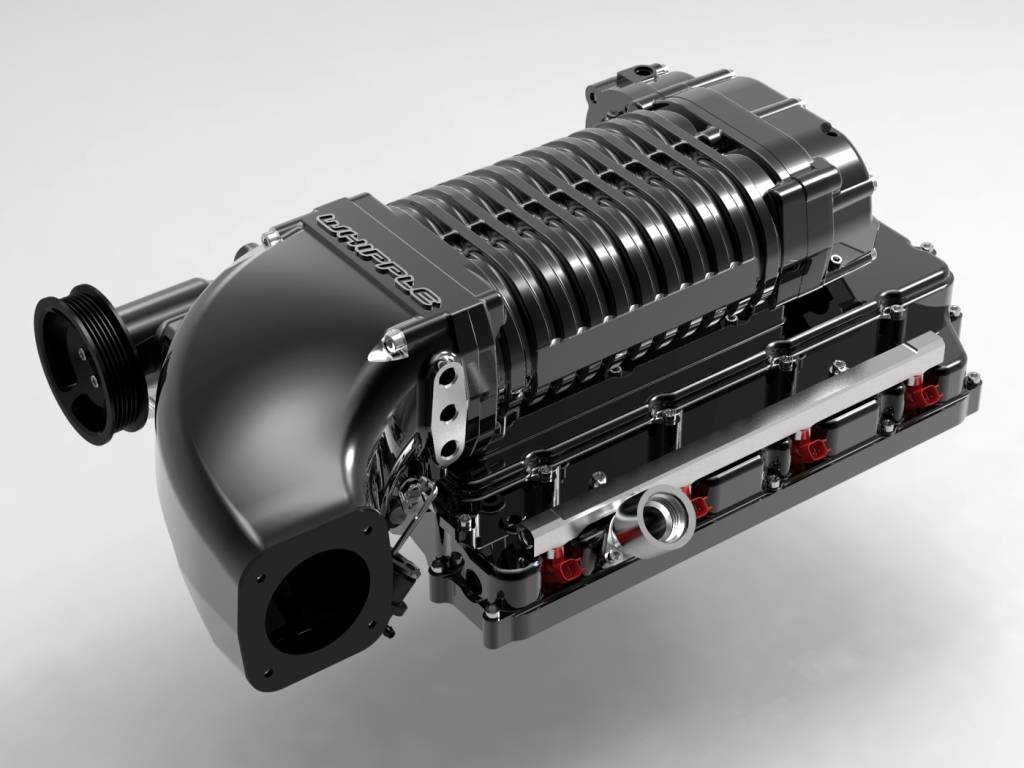 Whipple Superchargers - Whipple Dodge Challenger HEMI R/T 5.7L 2011-2018  Supercharger