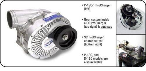 Chevy SBC & BBC Procharger Serpentine HO Intercooled Kit