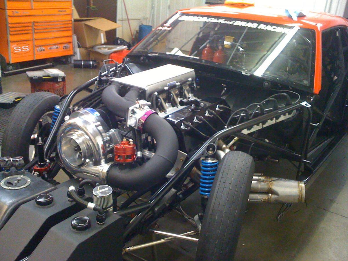 Chevy Sbc Amp Bbc Procharger Cog Race Kit With A F 3r 121