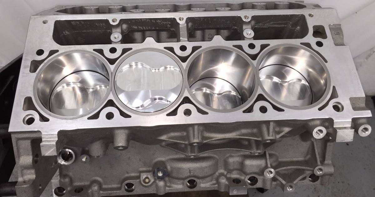 TREperformance - LSX 6.0 Stroker Short Block 408ci 9.240 Deck
