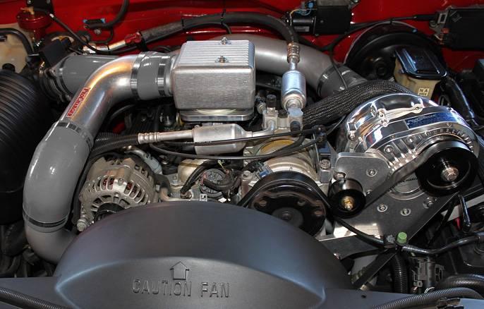 GM Truck/SUV 1996-2000 5 7L Procharger - HO Intercooled