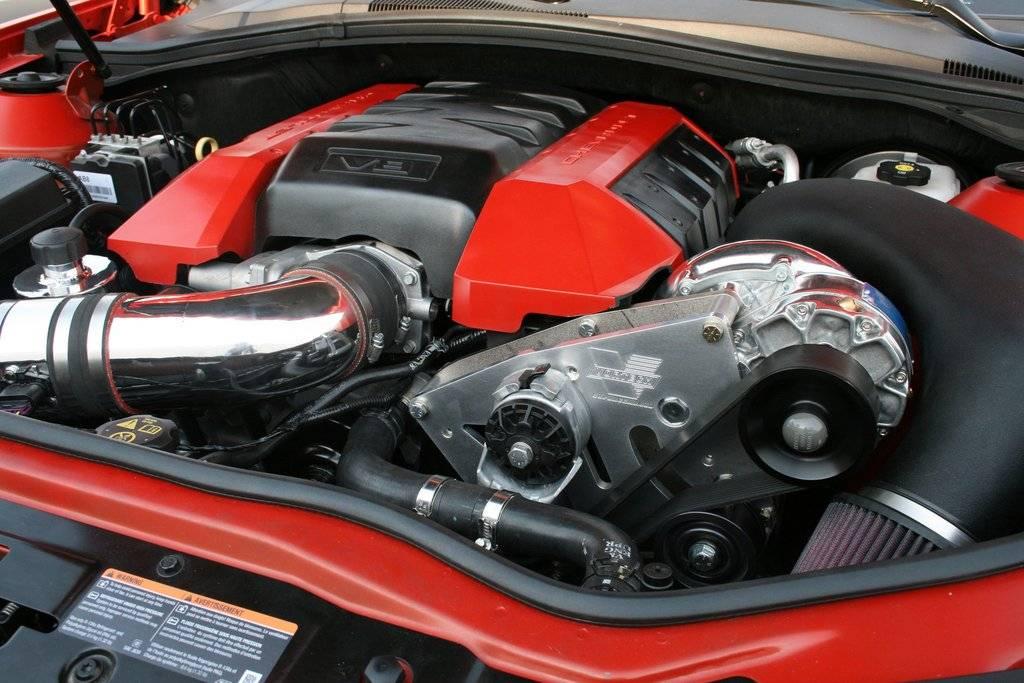 Chevrolet Camaro SS 2010-2011 6 2L Vortech Supercharger