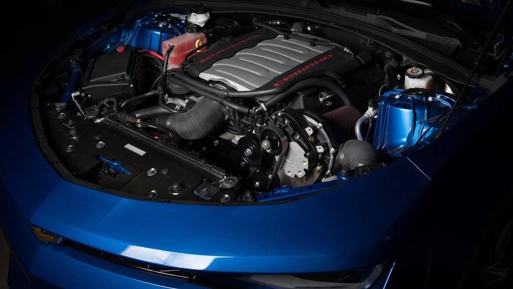 Chevrolet Camaro SS 2016-2018 6 2L Vortech Tuner Kit Intercooled V-3
