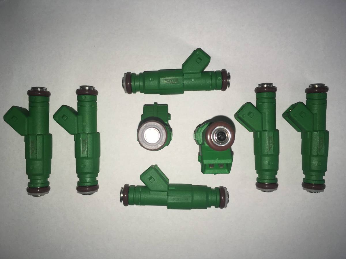 TRE 42lb Bosch Thin Style Fuel Injectors EV1 BMW Chevy Camaro Ford