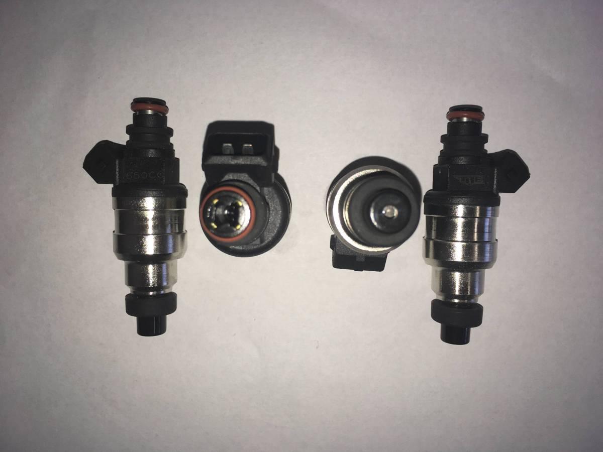 TRE 600cc Denso Honda Style Fuel Injectors Integra Civic