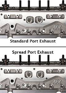 AFR SBC 245cc Spread Port Competition SBC Chevy Aluminum