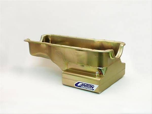 Ford Mustang 302 7 Quart Front Sump Street T Oil Pan - Canton