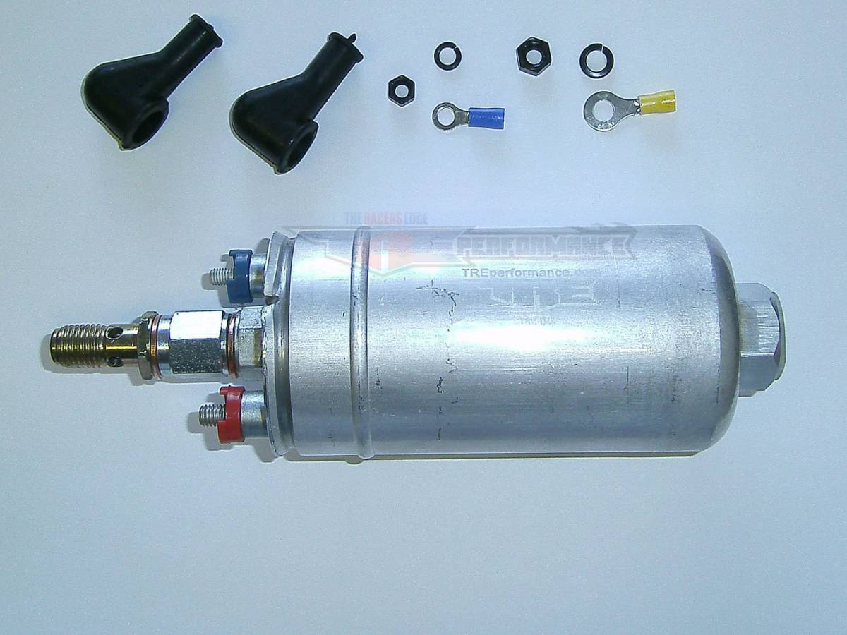 TWO WARRANTY 300LPH External Inline Fuel Injection Pump Replaces  0580254044 044