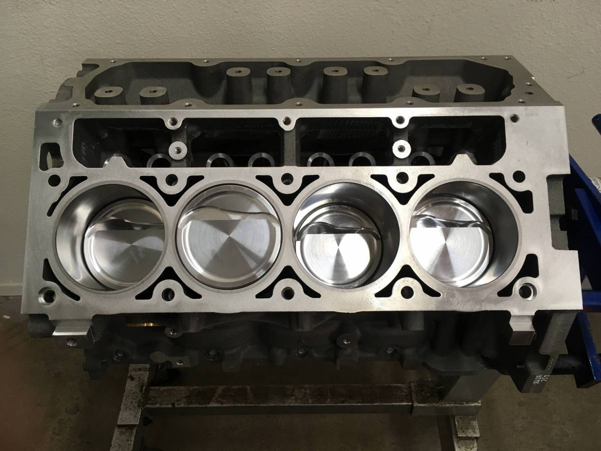 TREperformance - LS2 LSX Aluminum 402/403 Stroker Short Block 9.240 Deck - Image 1